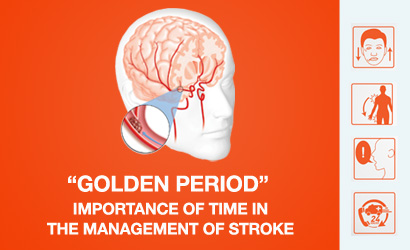 """""""Golden period"""": Importance of time in the management of stroke"""