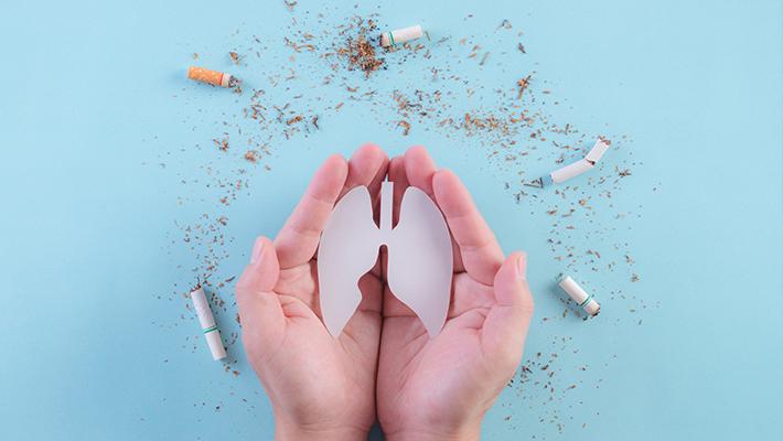 धूम्रपान आणि फुफ्फुस
