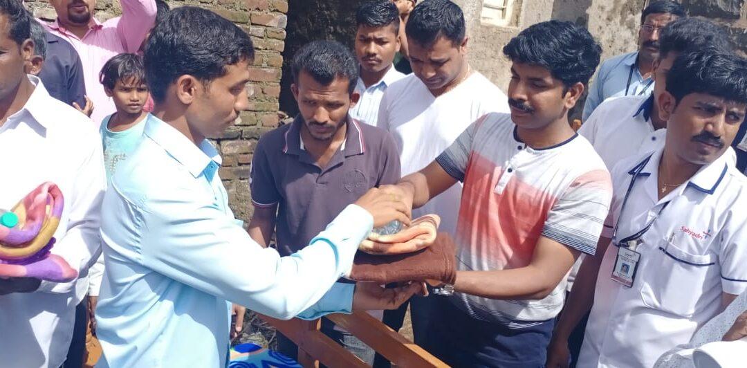 'SAHYADRI EXTENDS A HELPING HAND TO MAHARASHTRA FLOOD VICTIMS'
