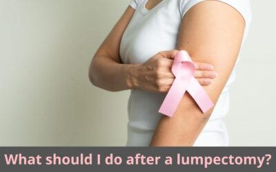 What should I do after a lumpectomy?